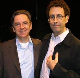 James Houghton with Tony Kushner(© Michael Portantiere)