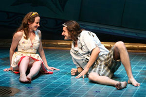 Maria Dizzia and Joseph Parks in Eurydice