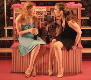 Gillian Jacobs and Anna Chlumsky in 