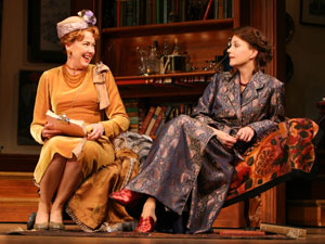 Harriet Harris and Margaret Colin in Old Acquaintance