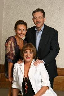 Laura Benanti, Boyd Gaines, and Patti LuPone