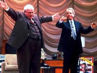 Charles Durning and Spalding Grayin The Best Man