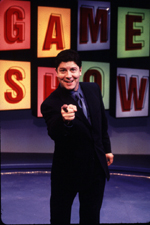 Michael McGrath asthe host of Game Show