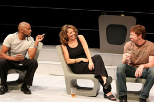 Darnell Williams, Glory Gallo, and Ned Massey in Guilty