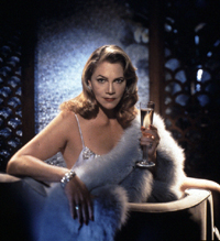Kathleen Turner as Tallulah Bankhead