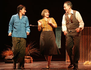 Laura Benanti, Patti LuPone, and Boyd Gaines in Gypsy