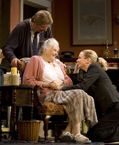 Larry Bryggman, Lois Smith, and Cady Huffman