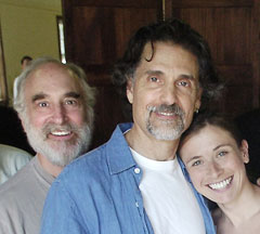 Jeffrey DeMunn, Chris Sarandon,and Hannah Cabell
