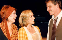 Donna McKechnie, Jane Krakowski,and Douglas Sills in Mack & Mabel(Photo: Tom Drucker)