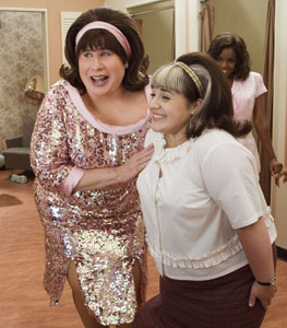 John Travolta and Nikki Blonsky in Hairspray