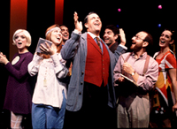 The cast of A Class Act(Photo: Joan Marcus)