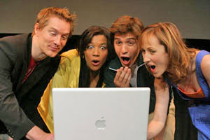 Bill Dawes, Cyndee Welburn, Josh Heine, and Kathy Searle
