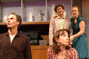 Tom Kee, Denise Cormier, Marc Carver, and Laura Latreille