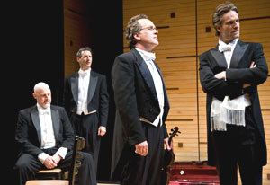 Douglas Rees, Richard Topol, David Beach,