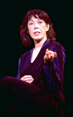 Lily Tomlin inThe Search for Signs...(Photo: Carol Rosegg)