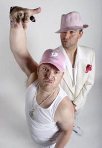 Chris Craddock and Nathan Cuckow