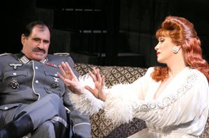 Richard Kind and Charles Busch in The Lady in Question