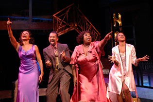 Freda Payne, Maurice Hines, Carol Woods, and Paulette Ivory
