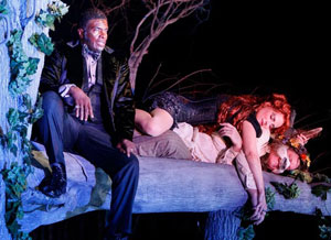 Keith David, Laila Robins, and Jay O. Sanders