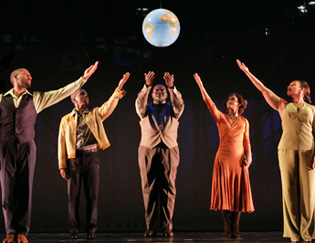 Ken Robinson, Leslie Odom, Jr., Chuck Cooper, Rema Webb,