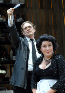 David Hess and Judy Kaye