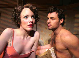 Alice Ripley and Max Von Essen in The Baker's Wife