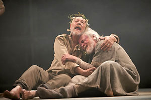 Ian McKellen and William Gaunt in King Lear