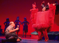 Kevin Chamberlin and Sharon Wilkins in Seussical on Broadway(Photo: Joan Marcus)