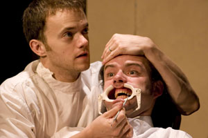 Christopher Yeatts and Mac Brydon in Stoppard Goes Electric (© Frank Kuzler)