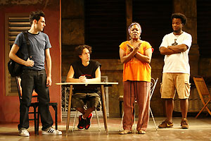 Matthew-Lee Erlbach, Flaco Navaja, Gwendolen Hardwick,