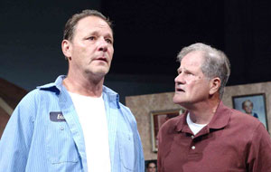 Chris Mulkey and Stephen Mendillo in Flags
