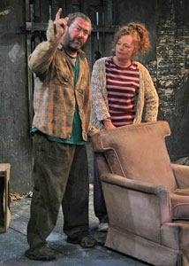 Marty Maguire and Natalie Brown in Rock Doves (© Jaisen Crockett)