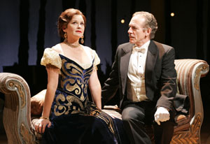 Stephanie Zimbalist and Mark Jacoby in A Little Night Music