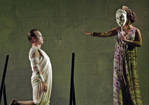 Lance Stuart Baker and Wandachristine in Thyestes