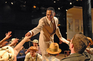 Joe Wilson, Jr. and ensemble in All the King's Men