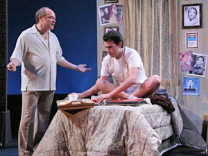 Joel Blum and Dan Micciche in Gemini the Musical