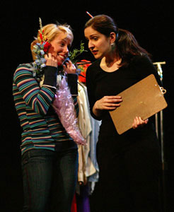 Amy Goldberger and Stephanie D'Abruzzo