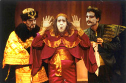 Crispin Freeman, Jeff Binder,and Josh Radnor in Princess Turandot(Photo: Carol Rosegg)