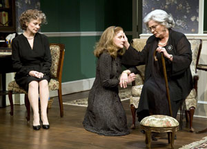 Penny Fuller, Hallie Foote, and Elizabeth Ashley