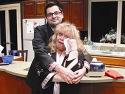Jeff Marlow and Sally Struthers in Sheldon and Mrs. Levine (© Cheryl Games)