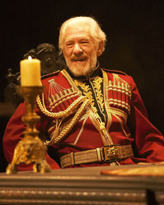 Ian McKellen in King Lear