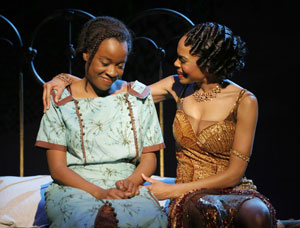 Jeannette Bayardelle and Michelle Williams