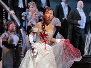 Natalie Dessay and company in Lucia di Lammermoor 