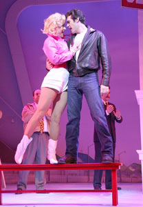 Felicia Finley and Joey Sorge