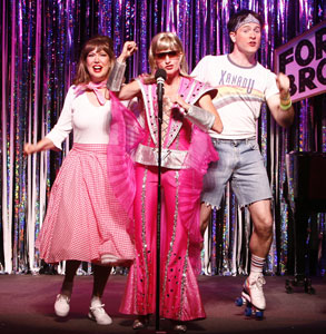 Valerie Fagan, Janet Dickinson, and Jared Bradshaw
