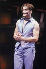 Joseph J. Carney in Godspell(Photo: Joan Marcus)