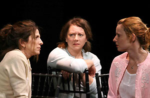 Lauren Katz, Amy Warren, and Kate Arrington