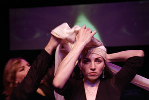 Oya Capelle and Nazmiye Oral in The Veiled Monologues