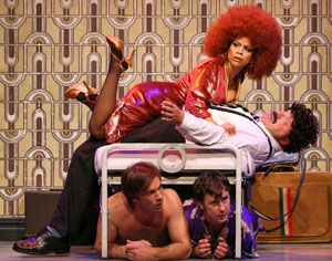 Rosie Perez, Kevin Chamberlin, Terrence Riordan,