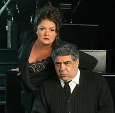 Aida Turturro and Vincent Pastore
